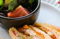 サクッとろーり美味しい♡卵サラダとチーズのやみつきハムカツ