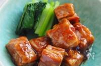 薄切り肉で発明級のやわらかさ!子どももOK♡『15分角煮』