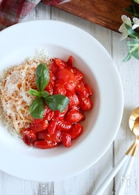 『【超簡単!】贅沢ミニトマトのポモドーロ』