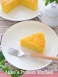 カフェ風『かぼちゃのチーズケーキ』