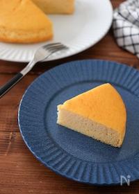 『おからパウダーで簡単♪シンプルおからケーキ【小麦粉不使用】』