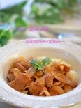 調味料3つ!豚バラと玉ねぎのデミソース☆
