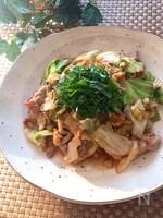 栄養バッチリ👌♡豚キャベクルミ味噌炒め