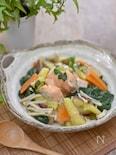 鮭と野菜のあんかけ丼