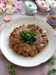 カリッカリがおいしい!豚バラ肉のエノキコーンバター包み