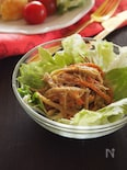 余りものでもOK☆きんぴらごぼうのサラダ
