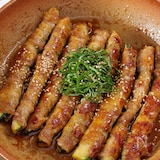【大葉が超合う】肉巻きズッキーニのご飯が進む生姜ポン照り