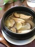 鶏手羽と大根のスープ