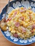 【5分de簡単】レンチんレシピ♪めちゃ旨♪レンジ炒飯♪