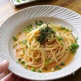 【優しいレシピ】まろやかソースの明太子クリームパスタ