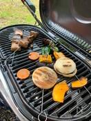 BBQ!豚バラ肉の串焼き