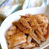レンジで簡単!ふっくらジューシー!ごぼうたっぷり煮鶏