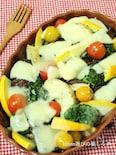 野菜の甘みを味わおう♪彩り野菜のチーズ焼き