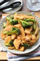 【ササミんレシピ】絶品♪ササミとブロッコリーの青椒肉絲風♪