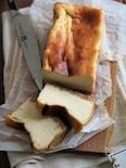 お豆腐チーズケーキ。