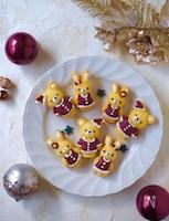 サンタうさぎとクマのマドレーヌ【クリスマス】