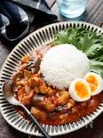 夏野菜たっぷり!無水チキンカレー【#作り置き#冷凍保存】
