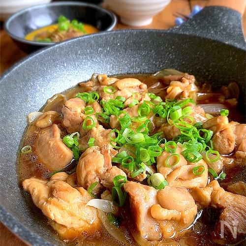 簡単で美味しいから定番になる【絶品鶏煮 】タマゴ絡ませて