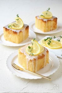 トースターで簡単!レモンパウンドケーキ【型不要】