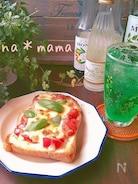 ピッツァ マルゲリータ風トースト♪