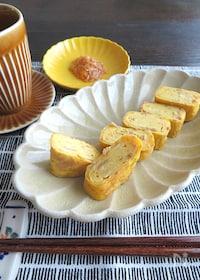 『簡単アレンジ卵焼き☆お弁当やおつまみに◎なめたけの卵焼き』