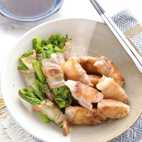 野菜の美味しさ引き立つ♪春野菜の豚巻き