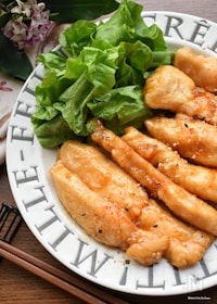 『びっくり!柔らか♡止まらんたまらん♡鶏胸肉の甘辛チキン♡』