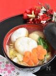 鶏肉と白菜のお雑煮【お正月】