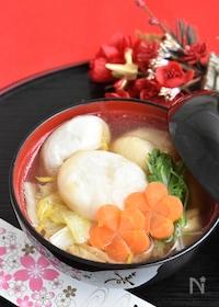 『鶏肉と白菜のお雑煮【お正月】』