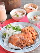<BRUNO>ホロホロ台湾風フライドチキンと本格参鶏湯