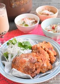 『<BRUNO>ホロホロ台湾風フライドチキンと本格参鶏湯』