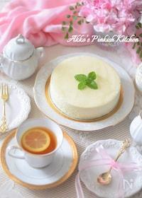 『ゆずの豆腐レアチーズケーキ【適糖生活】スローカロリーシュガー』
