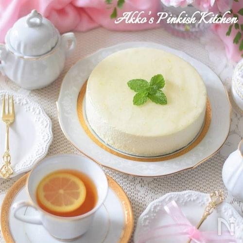 ゆずの豆腐レアチーズケーキ【適糖生活】スローカロリーシュガー