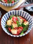 【トマトと豆腐のニラだれ和え】即席3分!