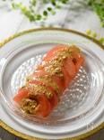 トマトが美味しくなる!簡単☆トマトの胡麻ドレサラダ☆
