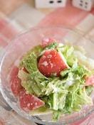 レタスとトマトのごまマヨサラダ