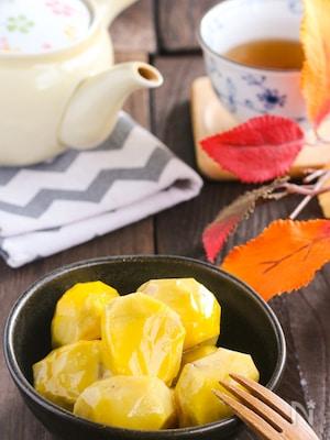 秋の幸せの一粒♪お鍋でコトコト♡ほっこりあま~ぃ栗の甘露煮