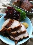 じっくりコトコトの〜煮焼豚(作りおき常備菜)角煮風です〜