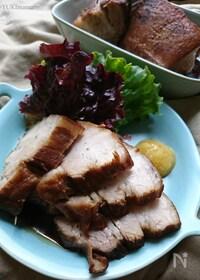 『じっくりコトコトの〜煮焼豚(作りおき常備菜)角煮風です〜』