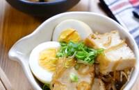 甘辛味が美味しい節約副菜♡『厚揚げとしらたきのすき煮風』
