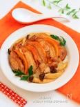 照り鶏のオレンジごま醤油ダレ丼