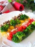 【鶏手羽スープで中身も出汁も利用】鶏肉と彩り野菜のゼリー寄せ