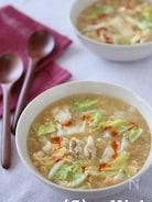 白菜たっぷり酸辣湯