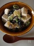 きざんだ豆とおとうふのトロトロ炒め