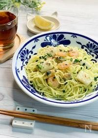 『お家の調味料で作れる*海鮮塩焼きそば*冷凍シーフードで簡単◎』