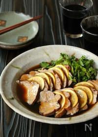 『豚肉のめんつゆ煮 紅茶の香り』