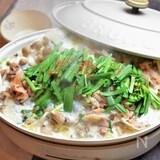 炒め豚コマ肉で安うまボリューミー!まろやか豆乳鍋