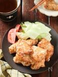 揚げ鶏のサクフワ♡ガーリックマヨソース【#むね肉#揚げない】
