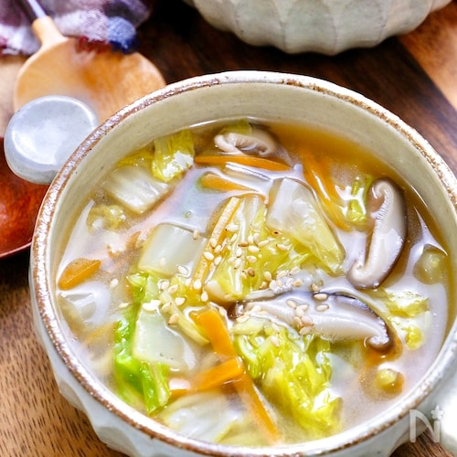 白菜 中華 スープ