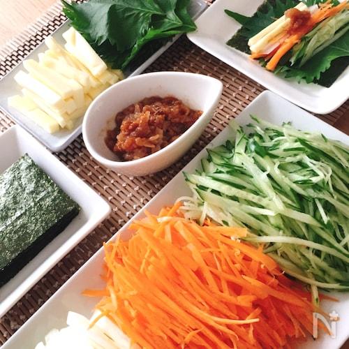 うちの定番♡野菜まきまきまき子